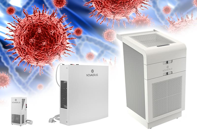 Plasma-Luftdesinfektion mit Novaerus
